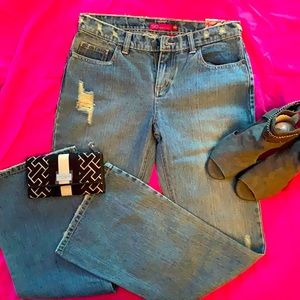 🐝 STRETCH FLARE JEANS